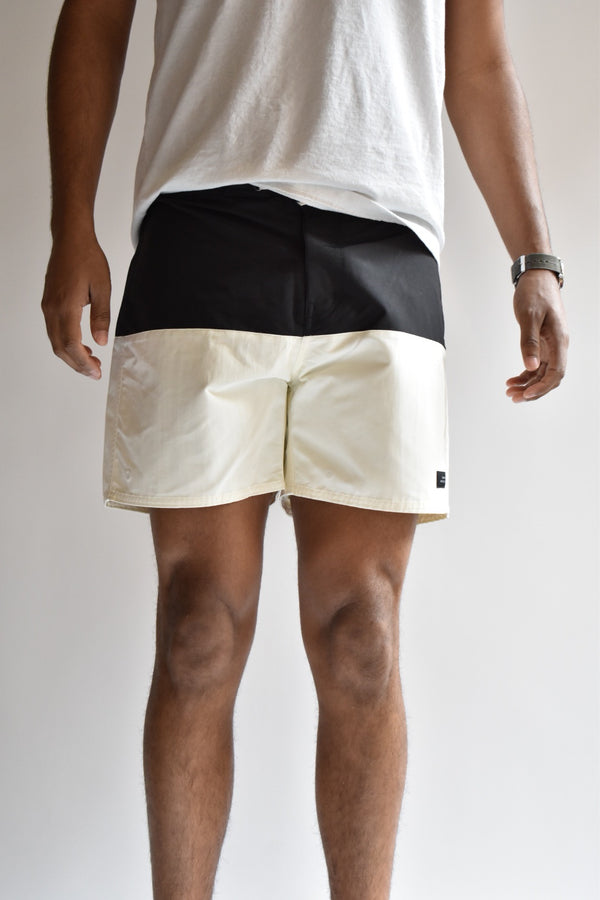 Saturdays Ennis Boardshort Black/Ivory