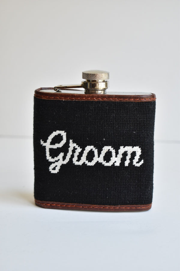 Smathers & Branson Groom Flask (Black)