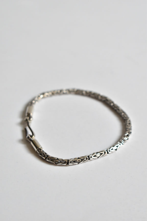 Caputo & Co Slim Java Bracelet Sterling Silver