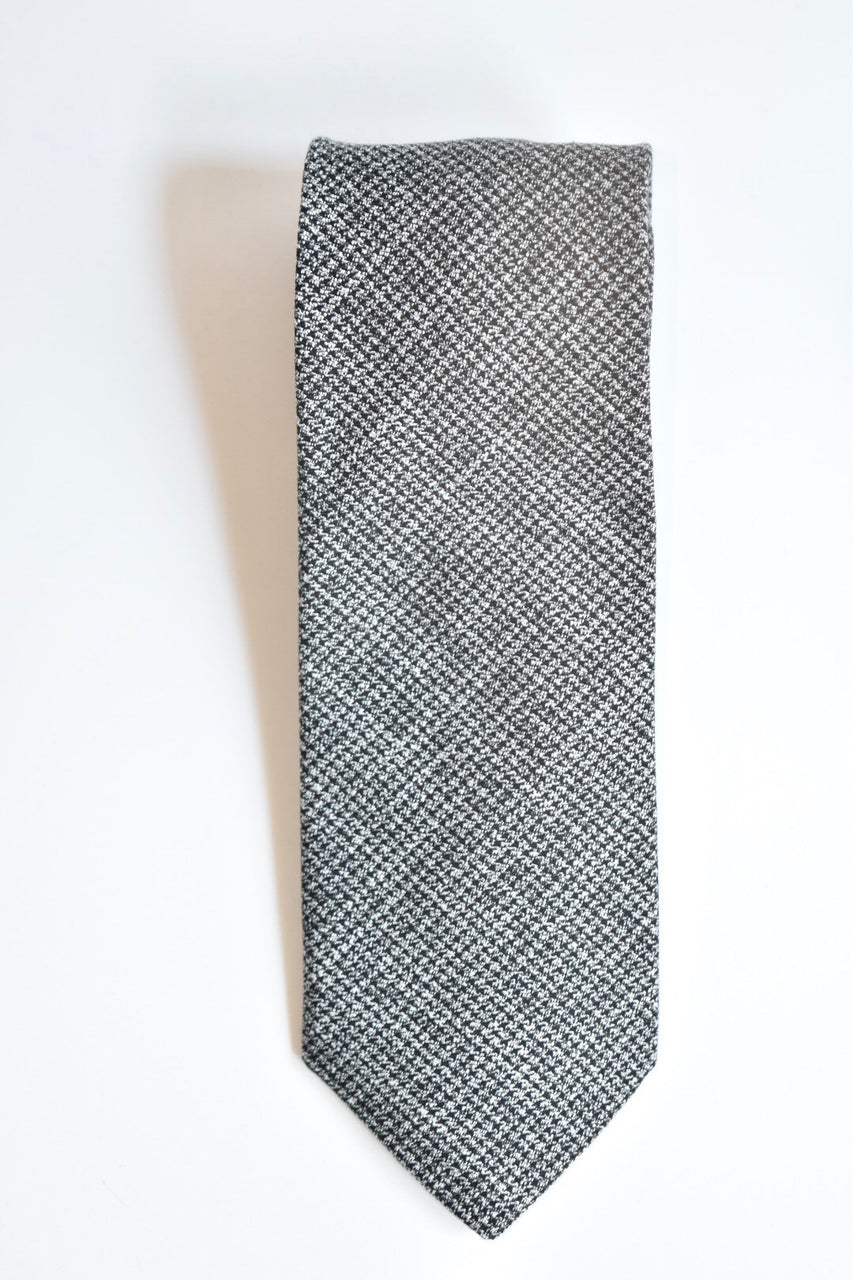 Oliver Spencer Tie Fallon Charcoal