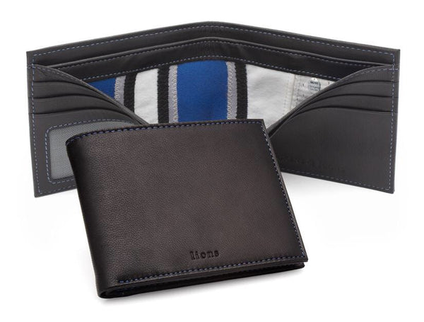 Tokens & Icons Detroit Lions Game Used Uniform Wallet