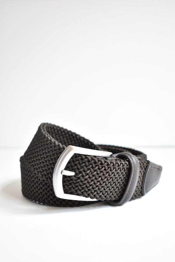 Anderson Tightly Woven Belt Brown