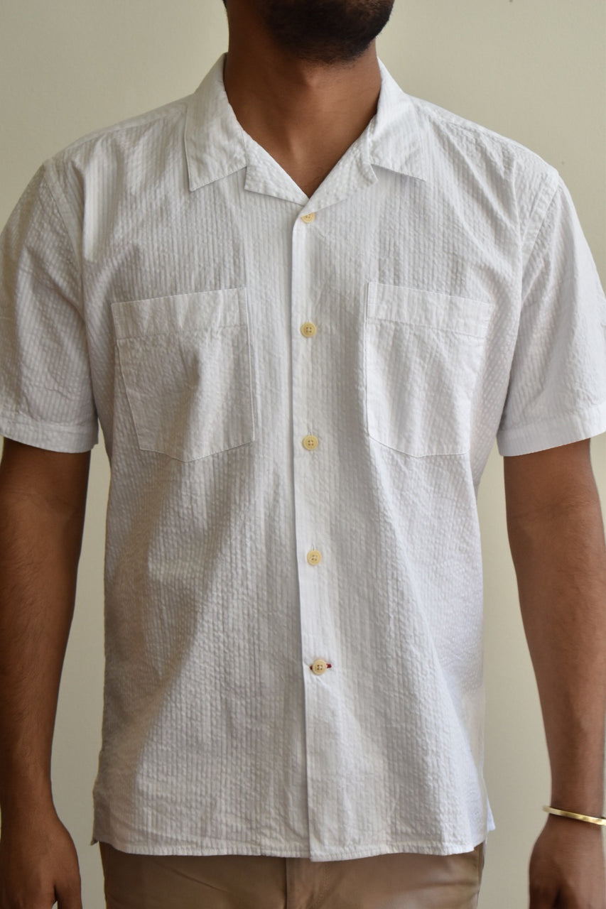 Oliver Spencer Havana Shirt Hattison White