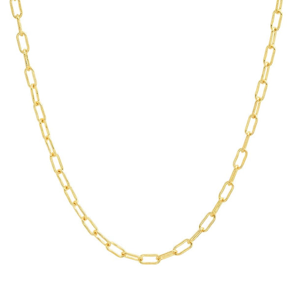 Eriness 14K Gold Link Chain Necklace