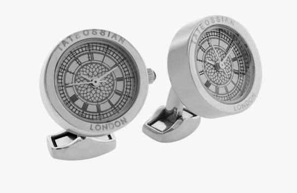 Tateossian Big Ben Watch Cufflinks