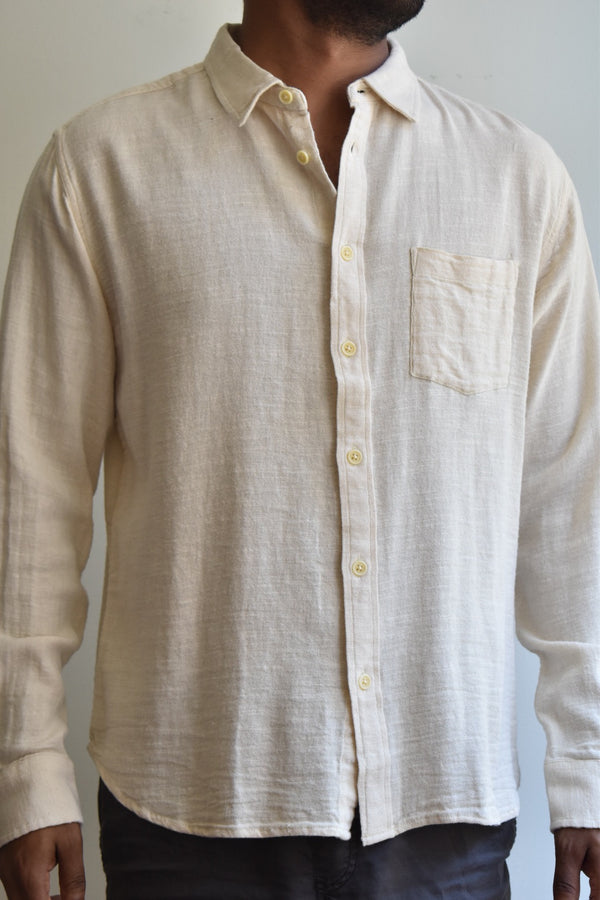 Corridor Natural Slub Twill Shirt