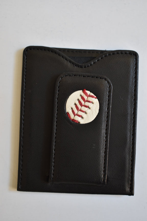 Tokens & Icons NY Yankees Baseball Money Clip Wallet