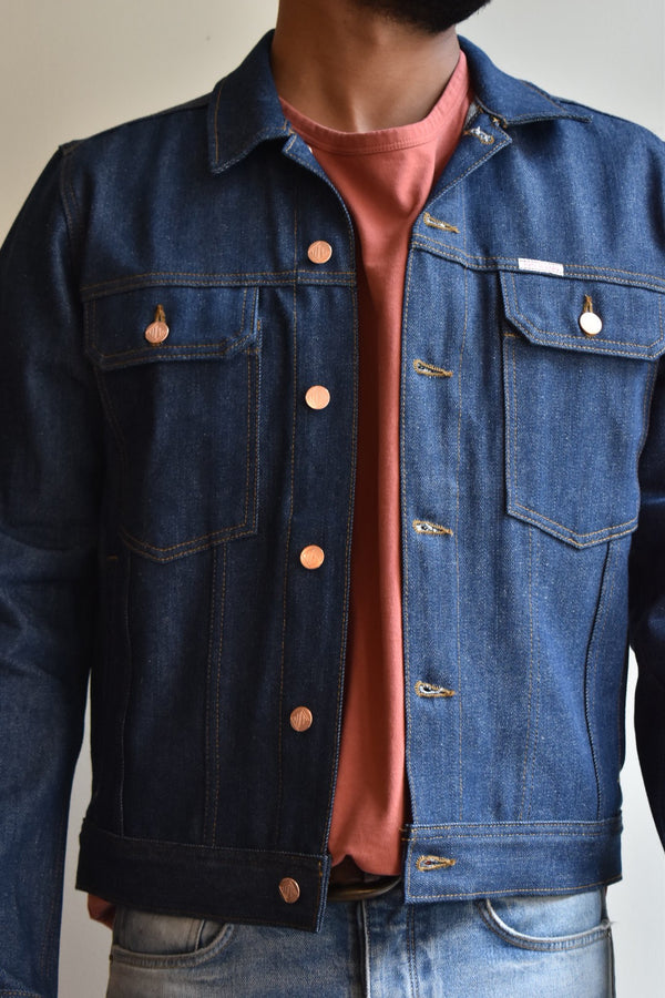 TOPO Trucker Jacket Blue Denim