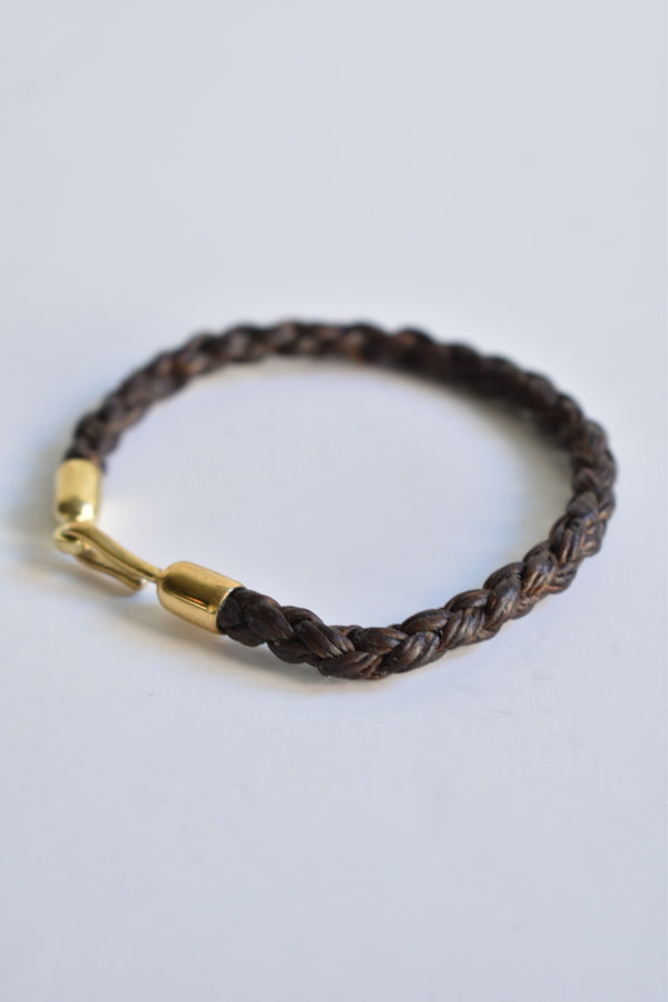 Caputo & Co. Hand-Braided Waxed Cord Bracelet