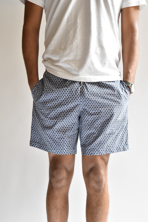 Faherty Beacon Swim Trunk Fish Scale Batik