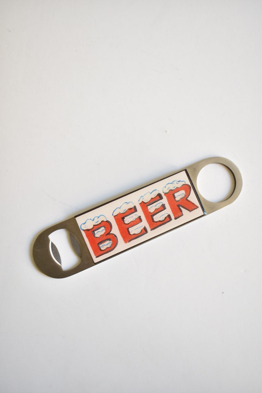 "Sweet Art Attack ""Beer"" Bottle Opener"