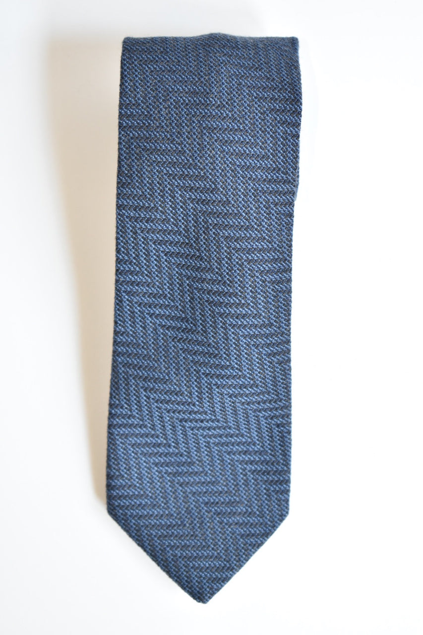 Oliver Spencer Tie Cahill Navy