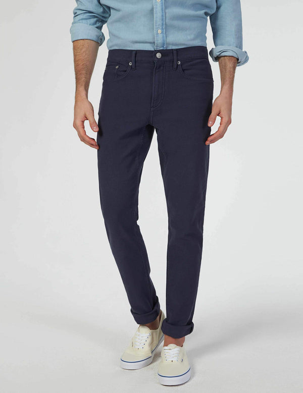 Faherty Stretch Terry 5 Pocket Pants Navy