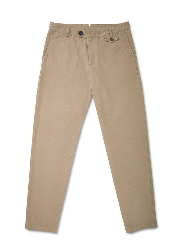 Oliver Spencer Fishtail Trousers Eden Tobacco