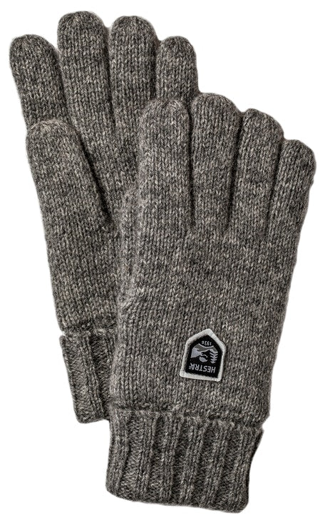 Hestra Wool Glove Charcoal