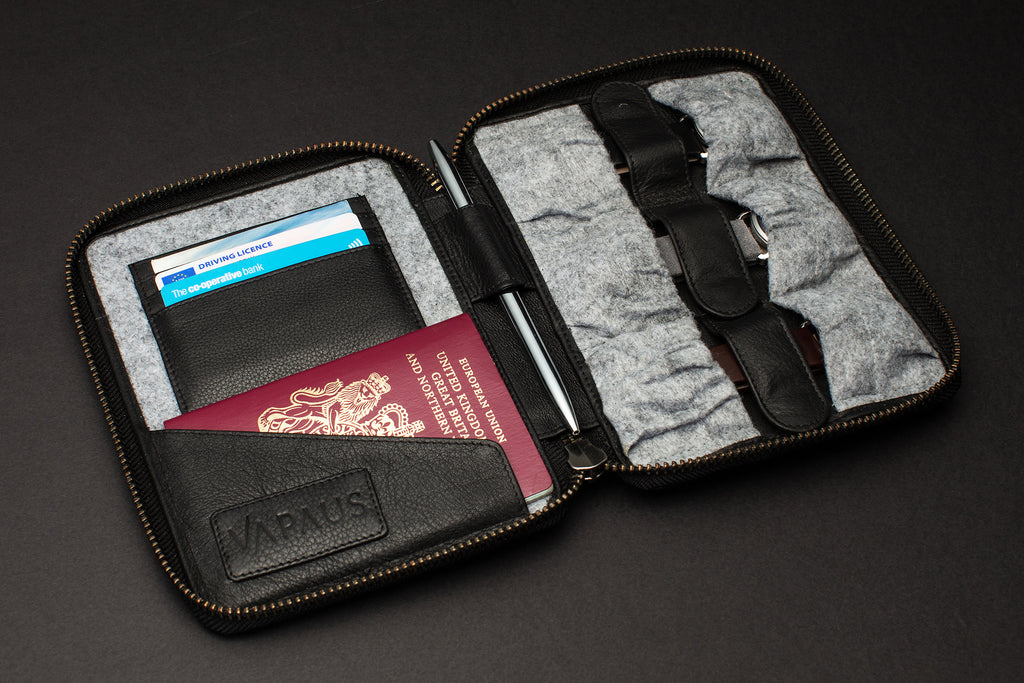 VAPAUS Luxury Travel Wallet