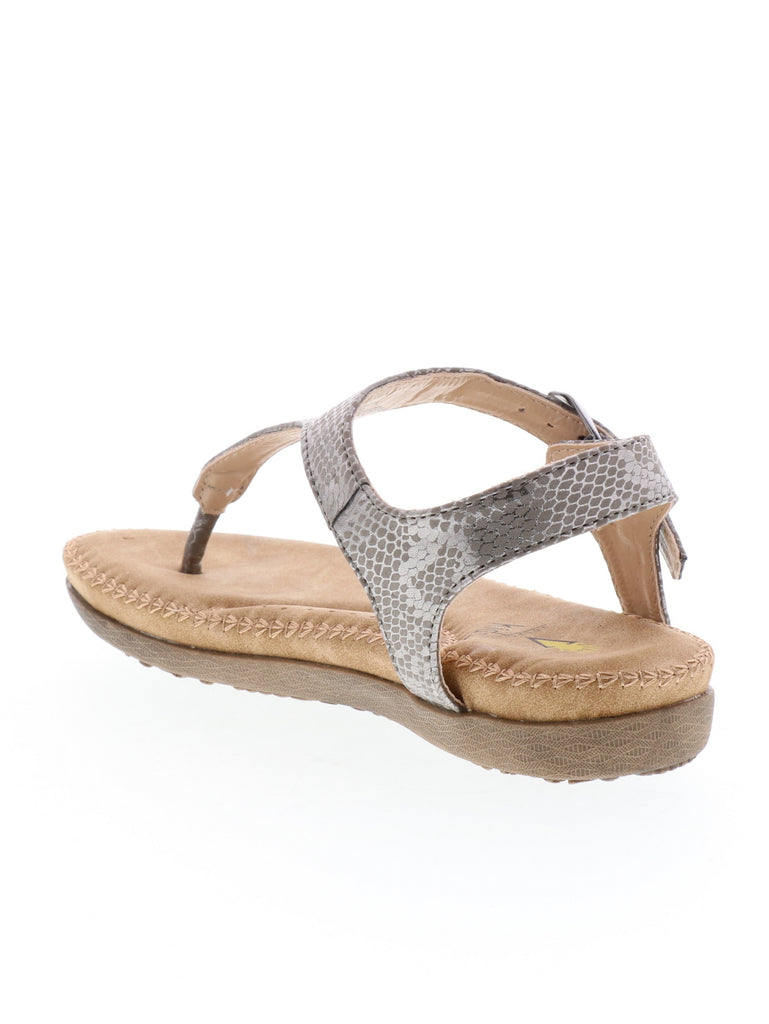 Amelie Sandal in Pewter by Volatile Kids