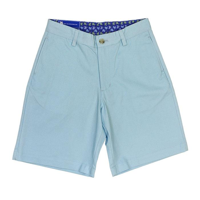 J. Bailey - Boys' Pete Shorts in Ice Blue Twill