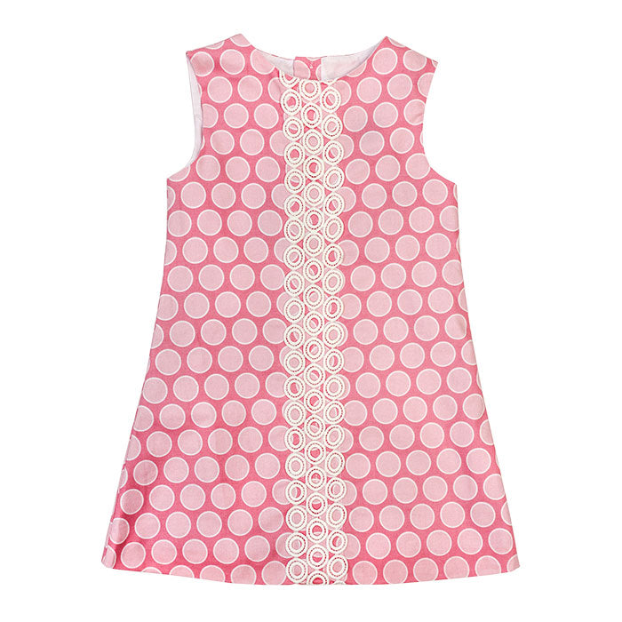 Bailey Boys - Bubblegum Pink Dot Dress