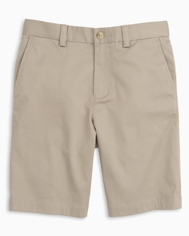 Southern Tide - Boys Channel Marker Shorts in Sandstone Khaki