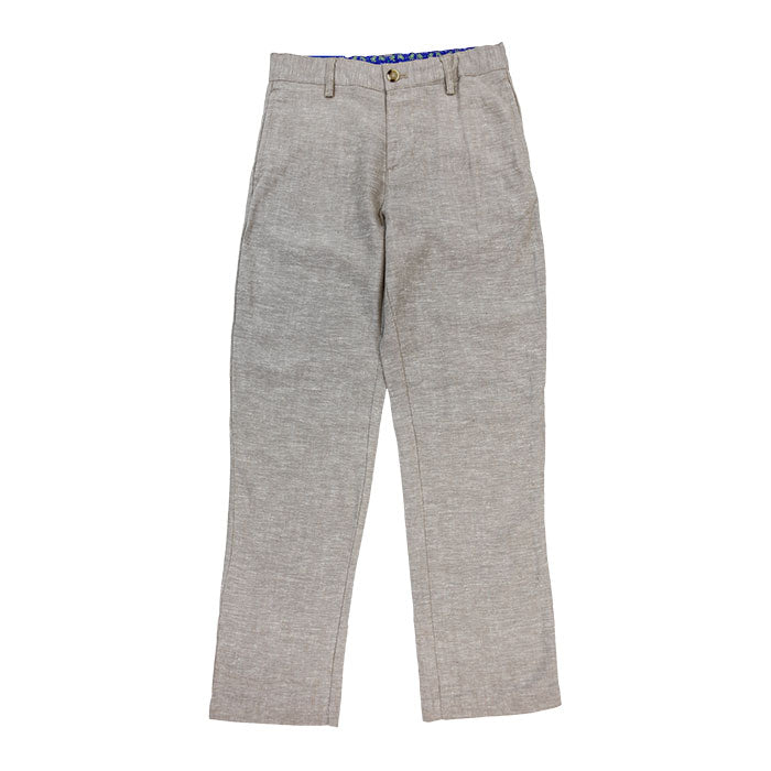 J. Bailey - Champ Pant in Flax Linen