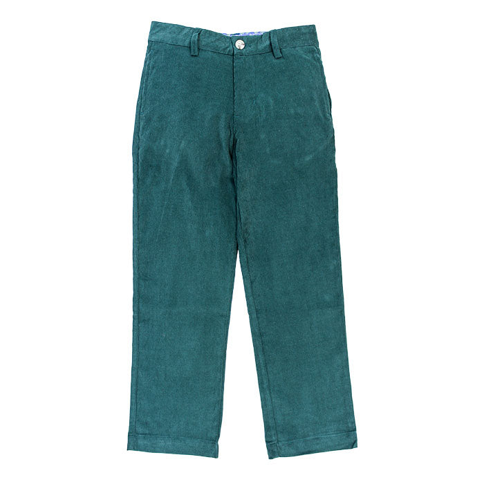 Bailey Boys - Forest Green Corduroy Pants