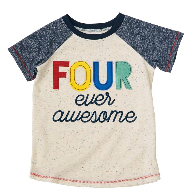 MudPie - Four Ever Awesome Tee