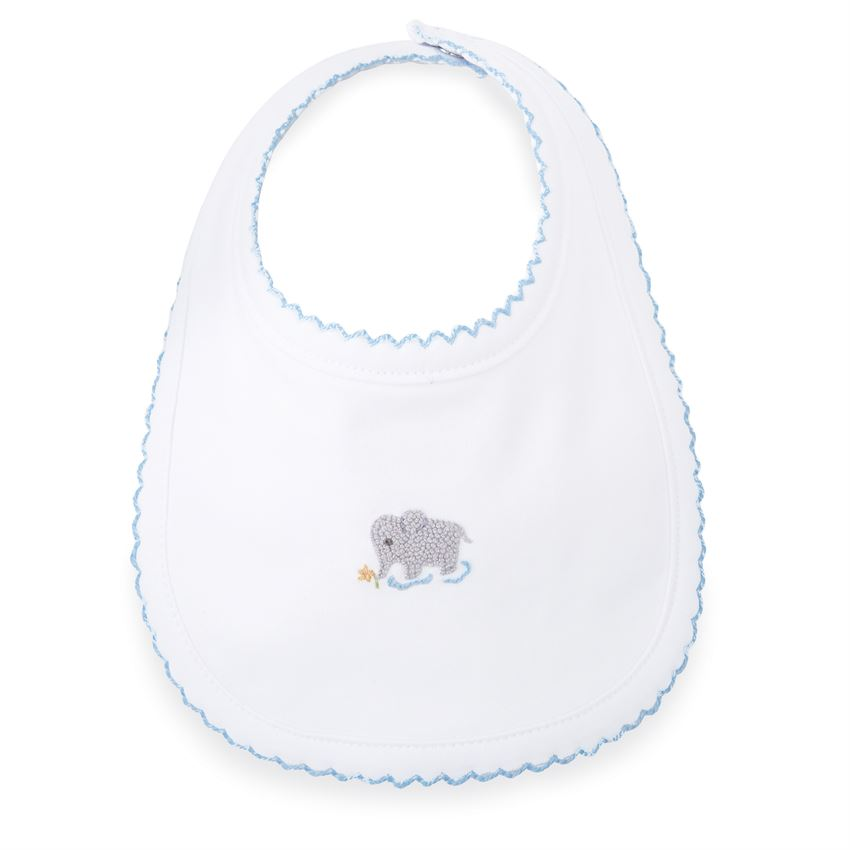 MudPie - French Knot Elephant Bib