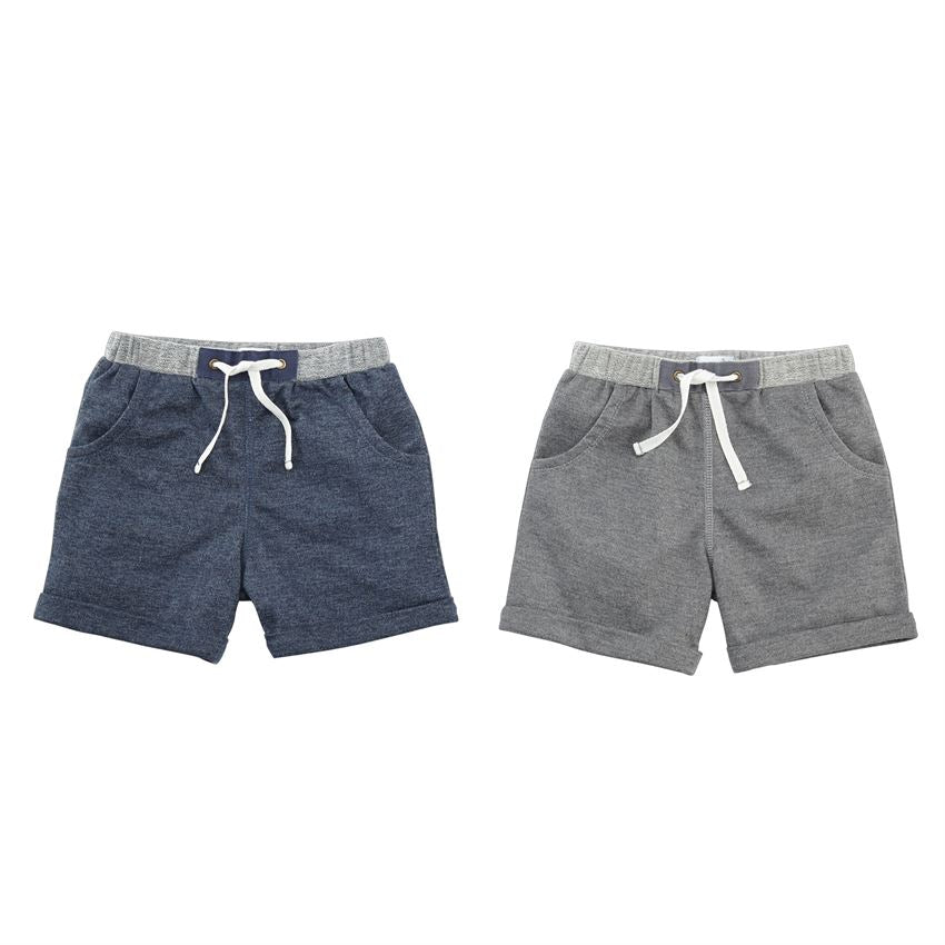 MudPie -Boys'  French Terry Shorts