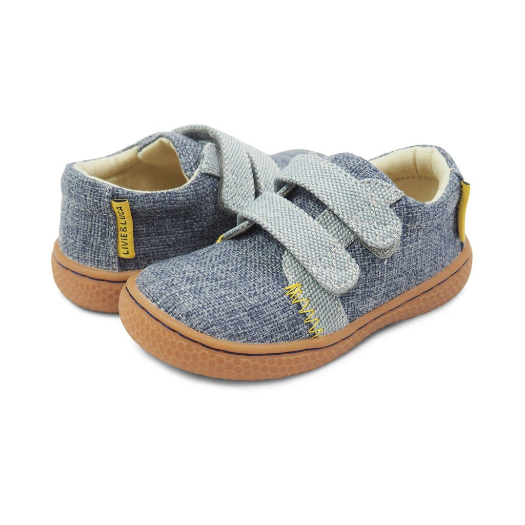 Hayes Shoe in Dusty Blue by Livie & Luca