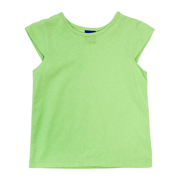 J. Bailey - Girls' Tee in Lime, Pink, Blue, or White