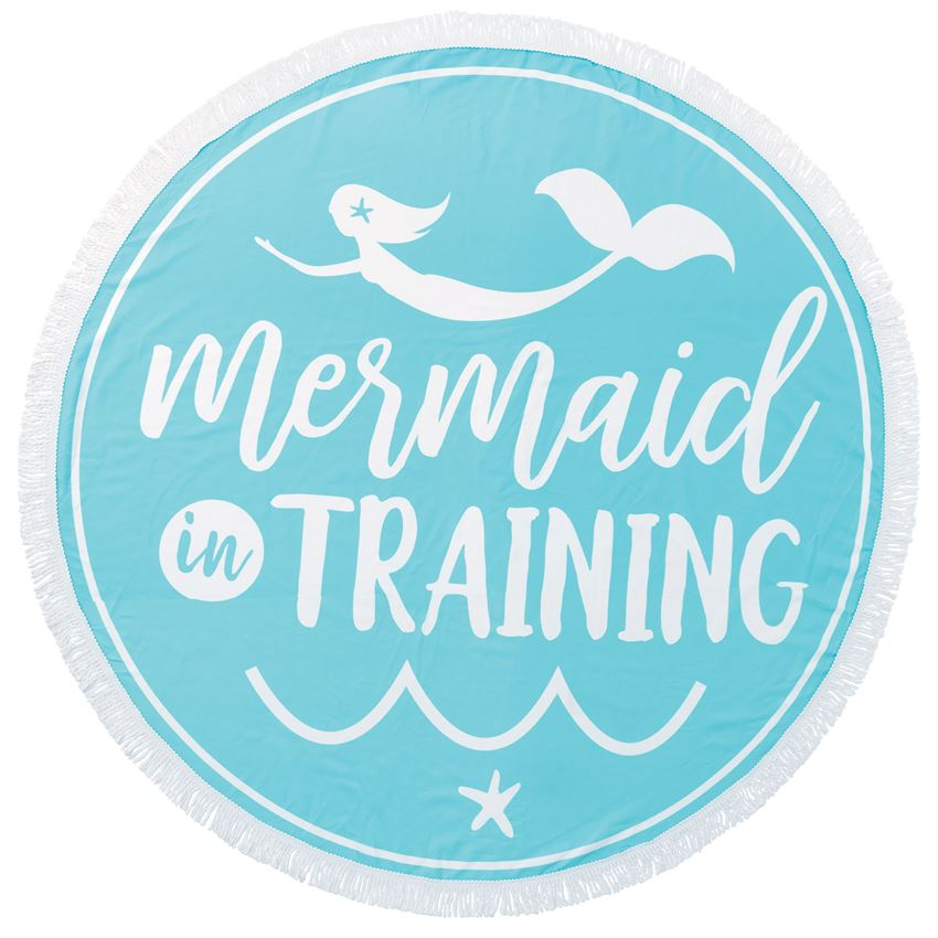 MudPie - Mermaid-in-Training Beach Towel