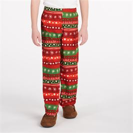 Coco & Carmen - Boys' Holiday Ribbons Pants
