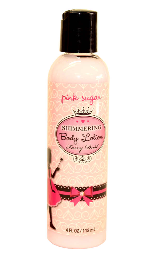 Fairy Dust Pink Sugar Shimmer Lotion