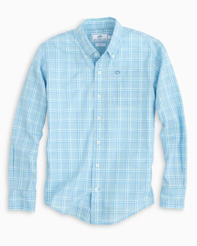 Southern Tide - Boys Roadstead Plaid Sport Shirt