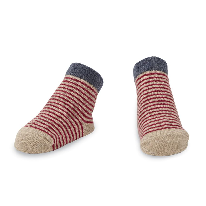 MudPie - Red Striped Socks