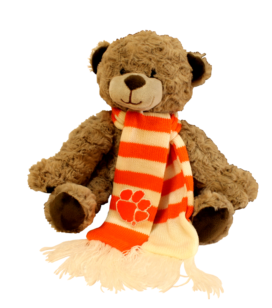 "Clemson Plush ""Wilson"" Teddy Bear"