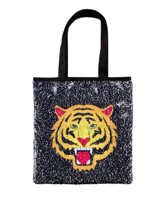 Fierce Tiger Magic Sequin Reveal Tote