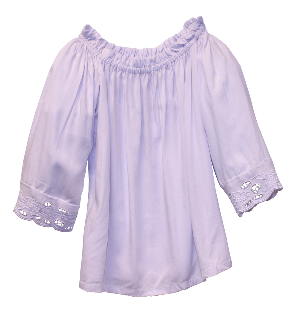 Joyous and Free - Bailey Peasant Top
