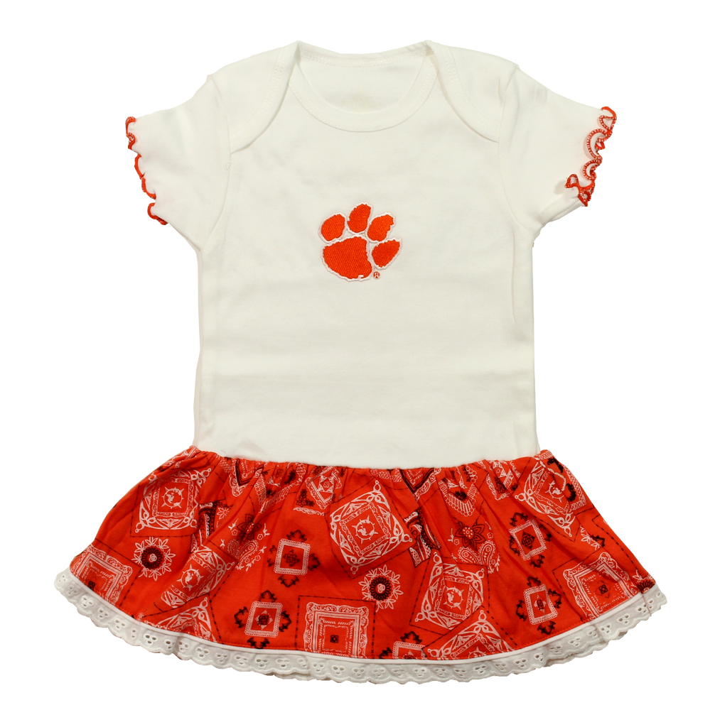 Clemson Orange Bandana Creeper