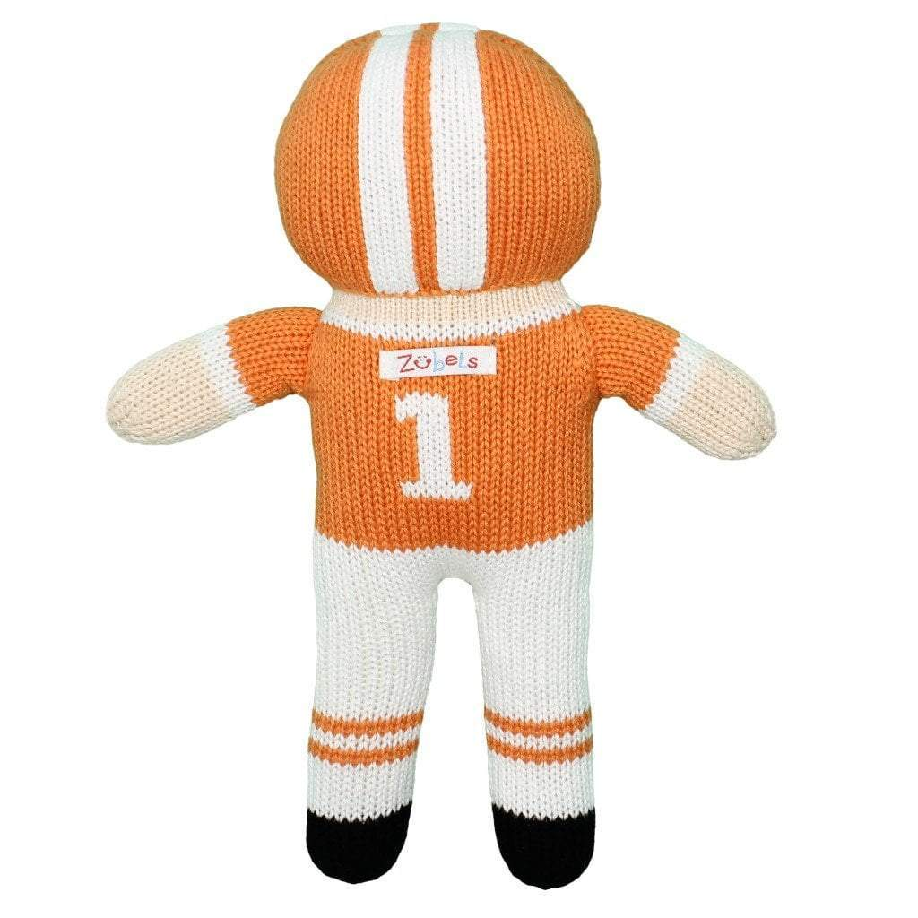 Clemson Football Player Doll