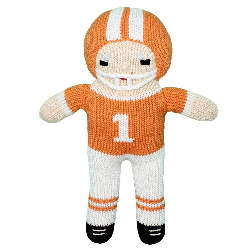 Clemson Football Player Rattle or Doll