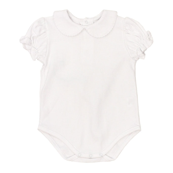 Bailey Boys - Girls White Knit Onesie