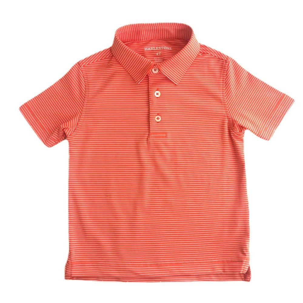 Harleston - Little Riggs Polo Shirt in Orange