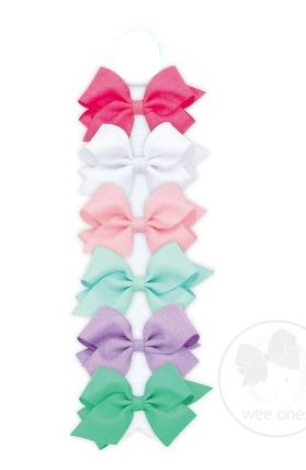 Wee Ones - Mini Wee Sparkle Bows