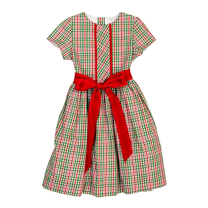 Bailey Boys - Mistletoe Plaid Dress