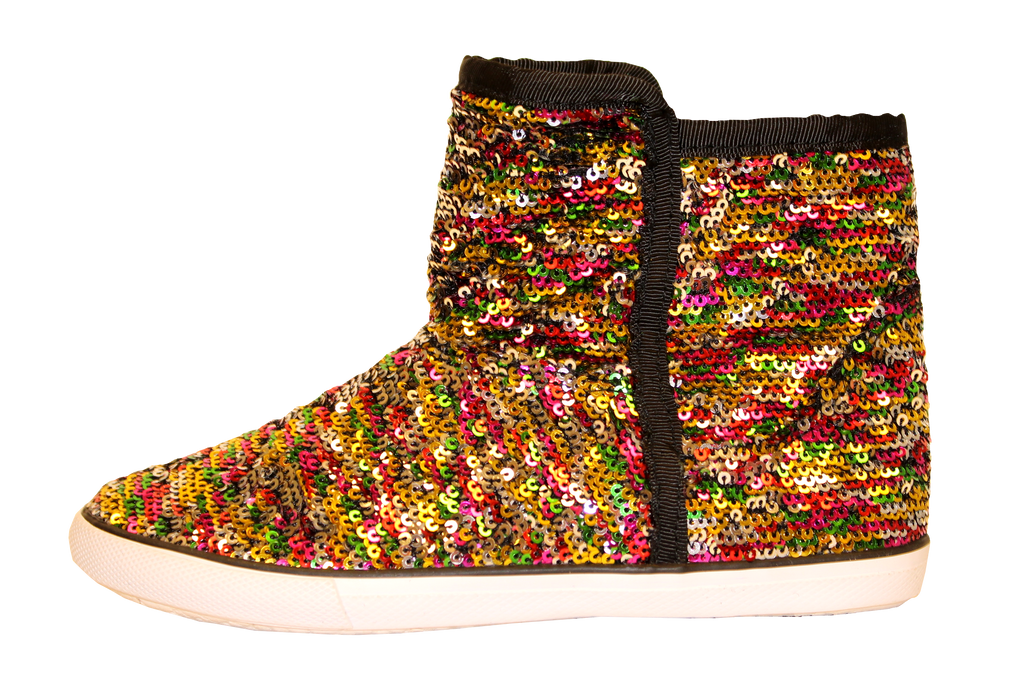 Sequined Boots by Volatile Kids