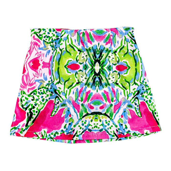 J.Bailey - Girls' Garden Print Skort