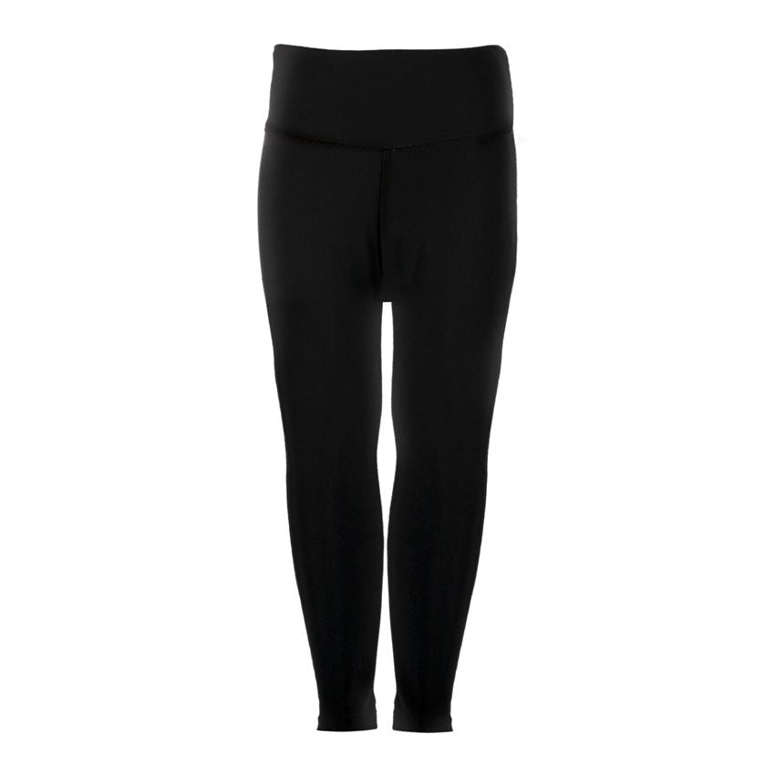 Coco & Carmen - Solid Brushed Knit Leggings - Black