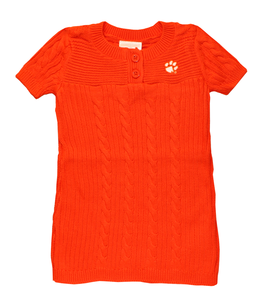 Clemson Orange Sweater Dress